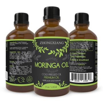 Wholesale100% pure cold pressed moringa seed oil