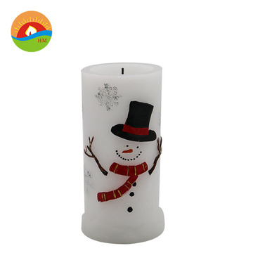 paraffin wax light flickering remote control led candles