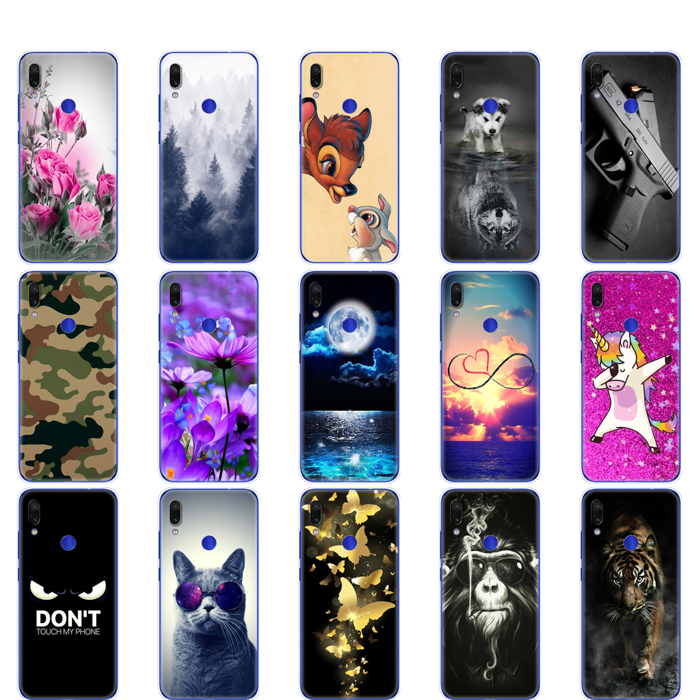 Case for Xiaomi Mi Play Cover silicon back cover for MiPlay Case Pattern Cat Coque Bag on Xiaomi Mi Play Phone Cases bumper cute