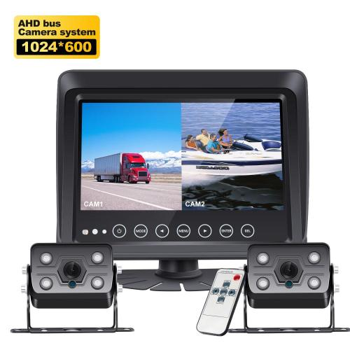 Reverse Camera for Heavy Truck Split Screen Monitor