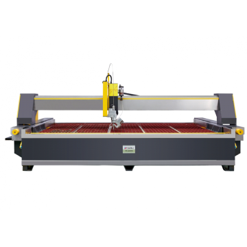 yuanli 3D Waterjet Cutting Machine with 5 Axis Water jet