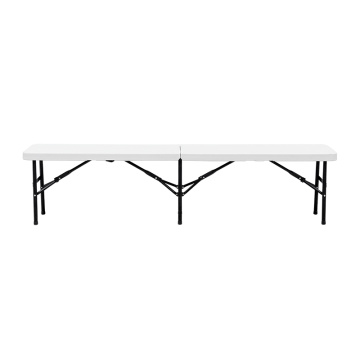 Camping Picnic Blow Molded 6FT Folding Bench