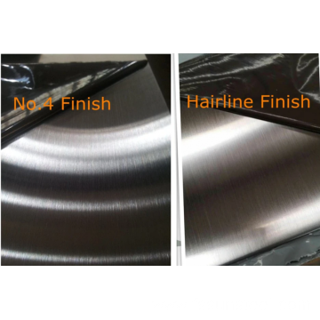Stainless steel sheets 430 NO.4 Satin Hairline