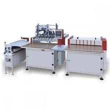 Semi automatic book cover hard case making machine