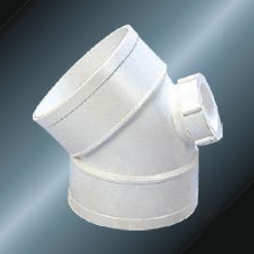 BS5255/4514 DRAINAGE UPVC Elbow45° With Back Door Grey