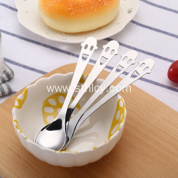 Customized Logo Stainless Steel Eco-Friendly Spoon