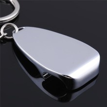 Keyring bottle opener metal key chain