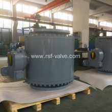 Trunnion Mounted Metal to Metal Seat Ball Valve