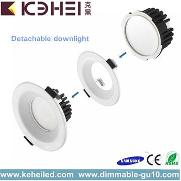 2.5 and 3.5 Inch LED Detachable Downlight 9W
