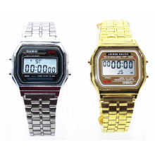 Fashion Metal Chain Men Digital Watches
