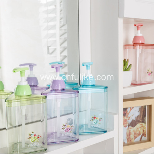 Plastic Shampoo Bottle with Pump for Hotel