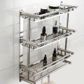 Stainless Steel Bathroom Multilayer Shelf