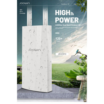 AC1200 Poe Access Outdoor Wireless wifi Repeater AP/WIFI Router High Power 1200Mbps Dual Dand 2.4G+5Ghz Long Range Extender PoE