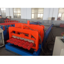 High quality PPGI step tile roll forming machine