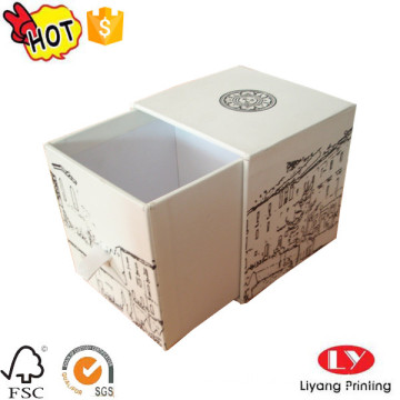 Cardboard drawer candle perfume packaging gift box