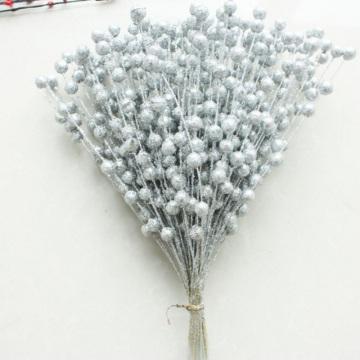 45 Pcs / Lot Christmas Decorative Artificial Pistachio Fake Flower Home Party Decorative Plastic Flower