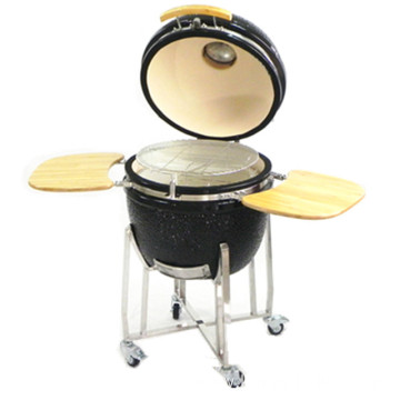 Japanese bbq grill with bamboo tables kamado grill