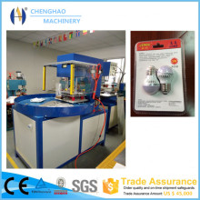 5KW Turntable PVC Blister Packing Machine