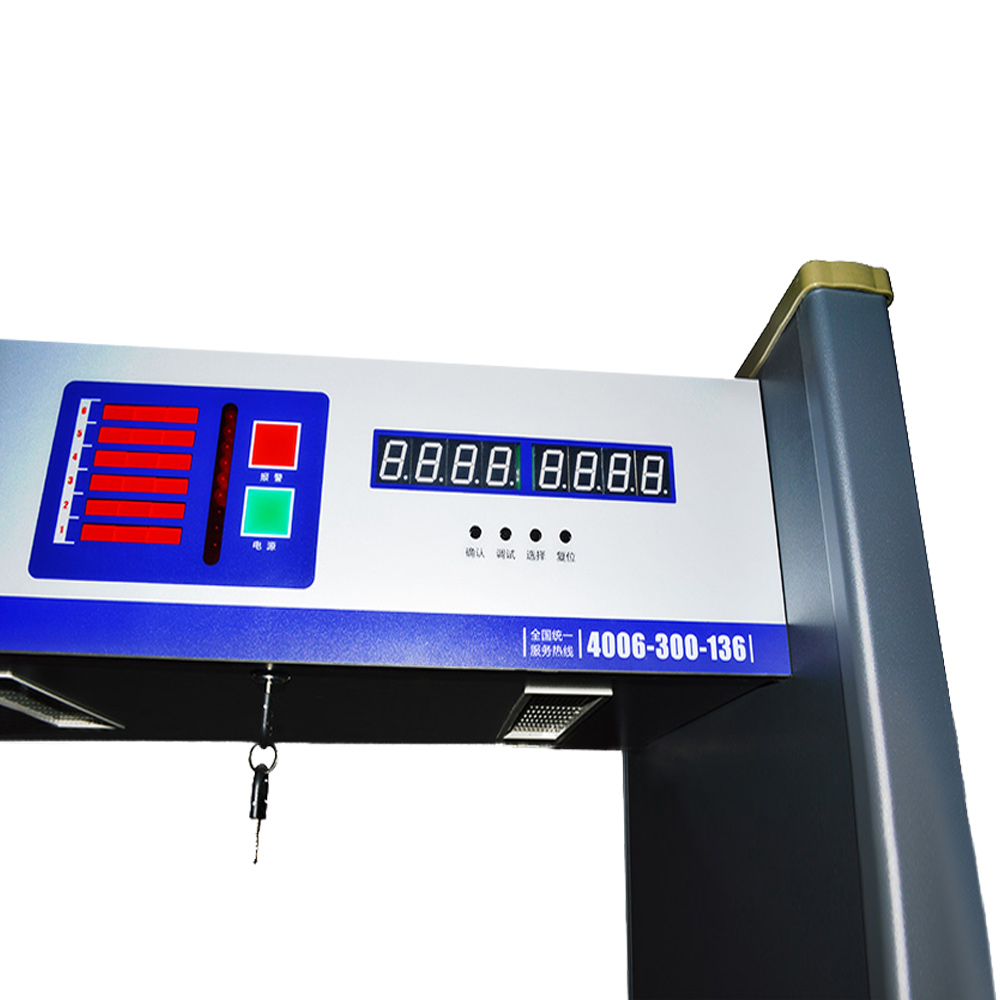 Metal Detector Gate Frame body scanner
