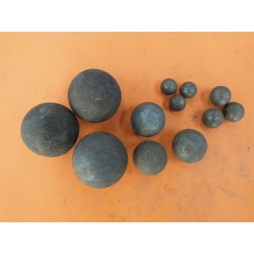 60mm forged grinding ball for  cement plant
