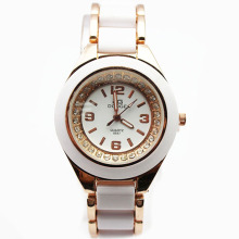 30m waterproof Women Alloy Quartz Wristwatch