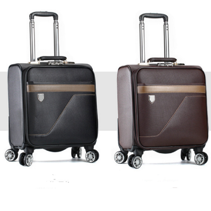 Carry on pu luggage