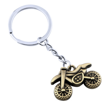 Newly Style Motor Shape Design Metal Keychain Accessories