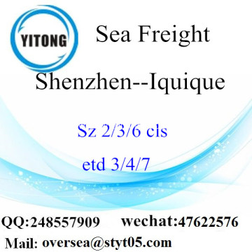 Shenzhen Port LCL Consolidation To Iquique