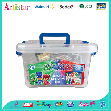 PJ MASKS craft activity tub