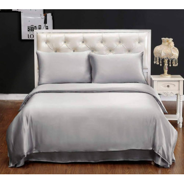 3PC Silk Bedding Duvet Cover With 2PC Pillowcases