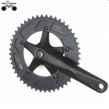 High quality single speed chainwheel bicycle crankset 46T 47T 48T 49T