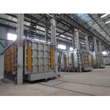 Bogie hearth type tempering furnace