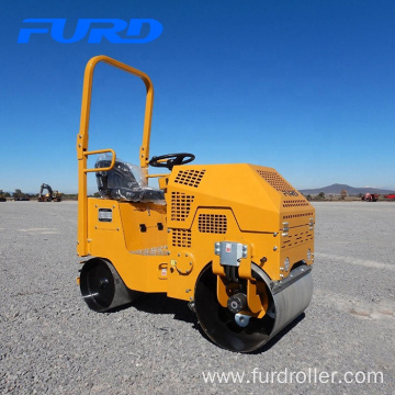 Double drum road roller soil compactor machine FYL-860