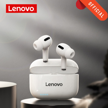 Original Lenovo LP1s TWS Wireless Earphone Bluetooth 5.0 Dual Stereo Noise Reduction Bass LP1 New Upgraded Version Touch Earbuds