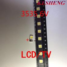 Replace LG Innotek Ypnl-LED LED Backlight High Power LED 2w 6v 3535 Cool White LCD Backlight for TV Applications 50PCS