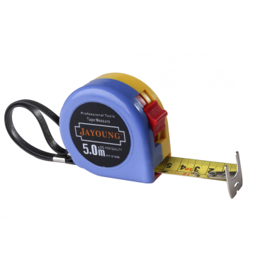 yellow tape measure in 3/16m 5/25m 8/25m 10m