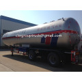 Tri-axle 60CBM LPG Transport Semi-trailer