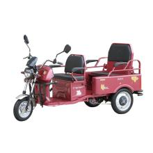 Recreational electric tricycle for passengers adult