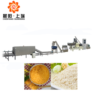 Bread crumbs extruder machines bread crumbs processing line