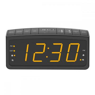 New Arrival LCD Digital Display Smart Bedroom Desk Alarm Clock Control Radio