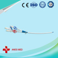 Triple lumen Hemodialysis catheter