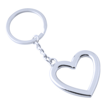 High Quality Fashion Heart Shape Design Metal Keychain