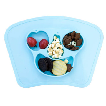 silicone rubber baby kid food serving placemats