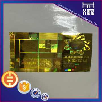 3d Authentic Hologram Stickers