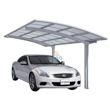 Arched Roof Garages Free Standing Aluminum Carport