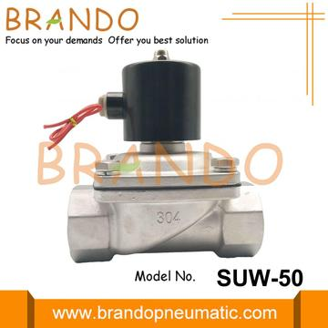2'' Stainless Steel Solenoid Water Valves SUW-50 2S500-50
