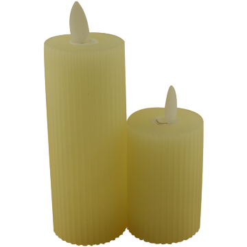 Hot Sale Colorful Scented Pillar Candle