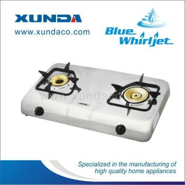 Teflon Coated Surface 2 Burner Gas Stove