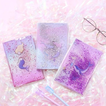 MERMAID LIQUID GLITTER NOTEBOOK-0