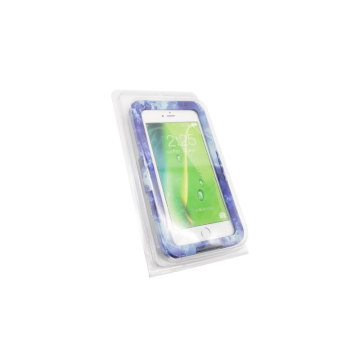 Custom electronic clear clamshell blister packaging